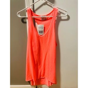 NWT Buckle Neon Pink Tank Top 💓